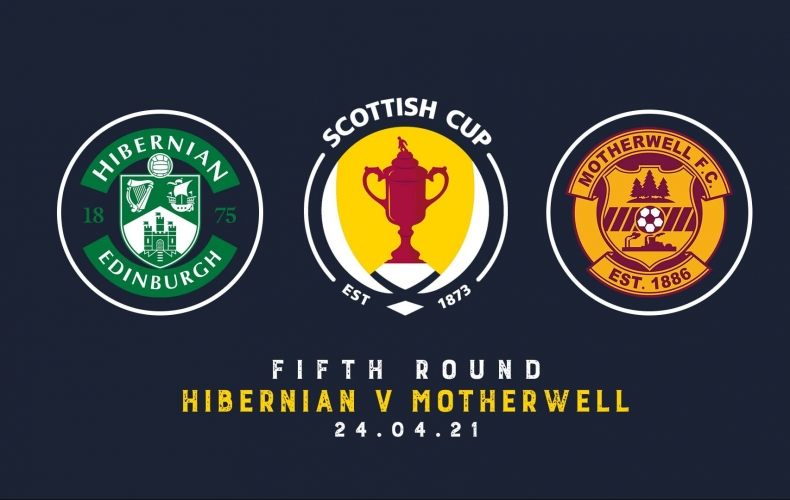 Motherwell face Hibernian in Scottish Cup quarters