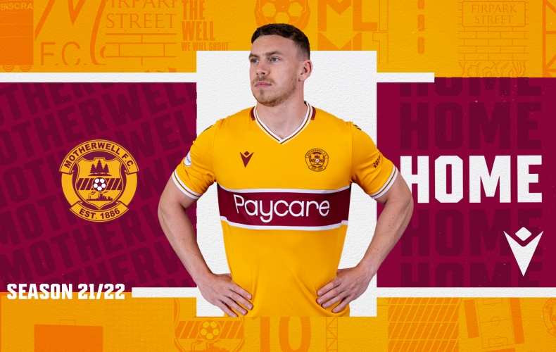 Introducing the 2021/22 Motherwell FC home kit