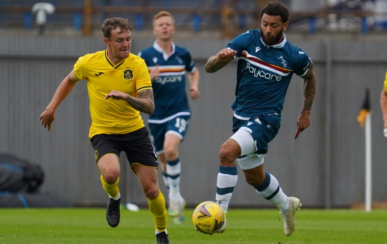 First friendly test ends in defeat at Dumbarton