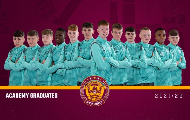 Twelve academy graduates turn professional