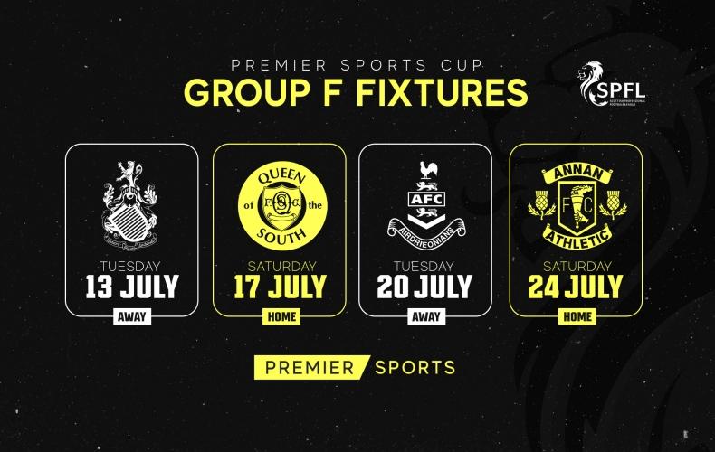 Premier Sports Cup fixture dates set