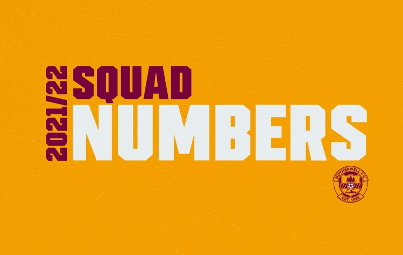 2021/22 squad numbers