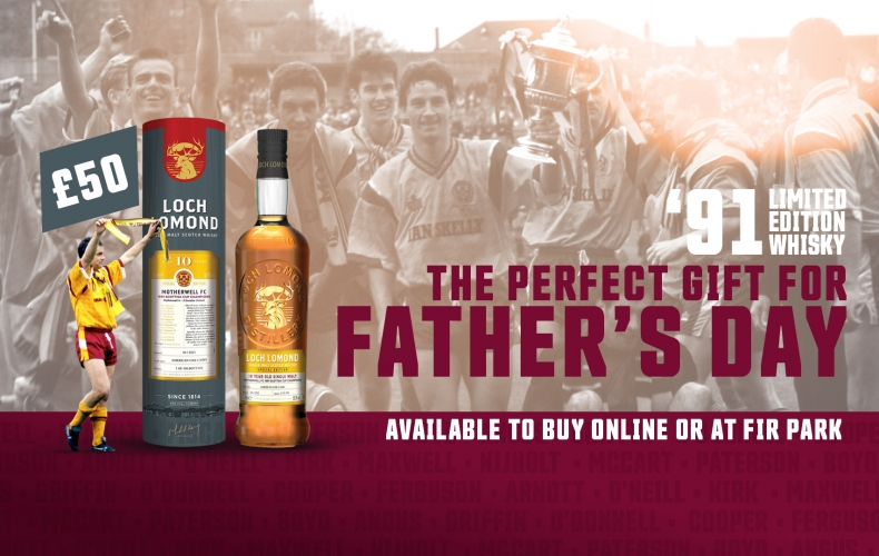 Get dad our 1991 special whisky for Father's Day