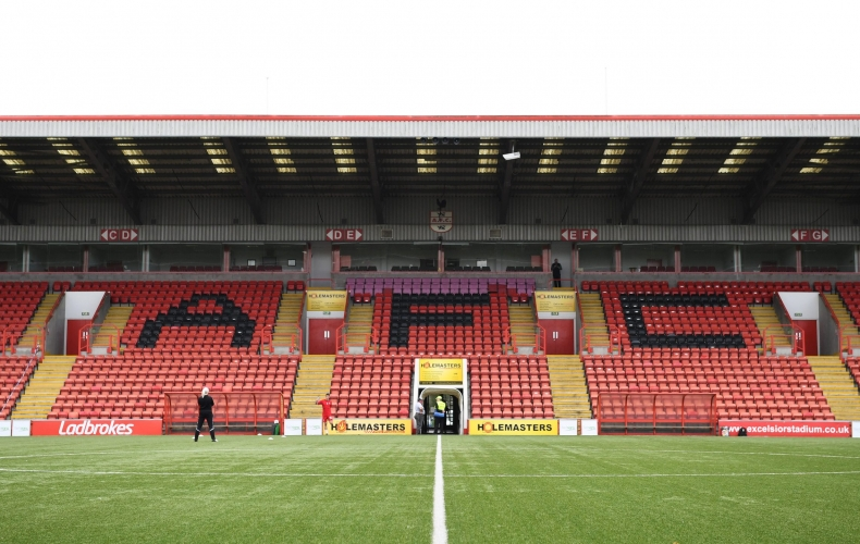 Collect your tickets for Airdrie derby
