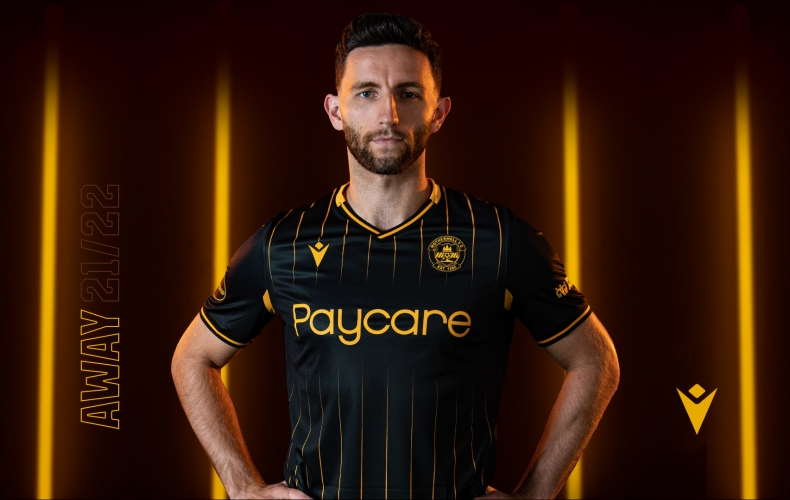 The Motherwell FC 2021/22 away kit