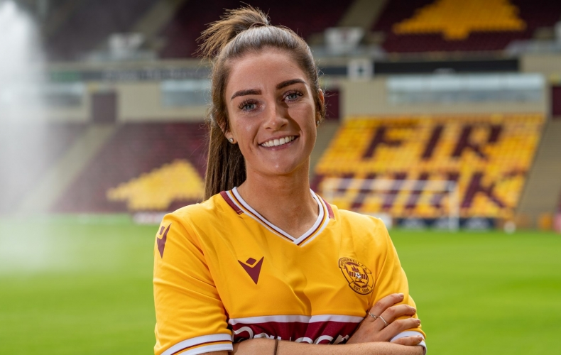 Amy Anderson joins Motherwell