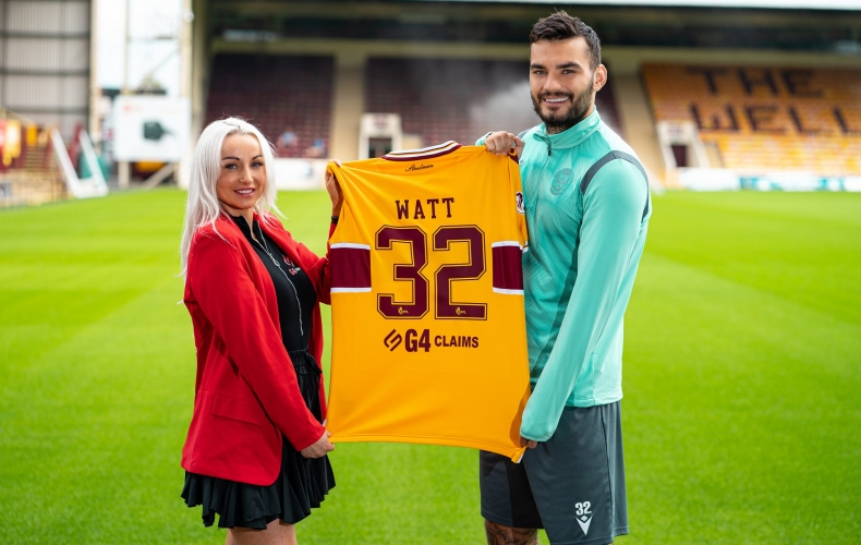 G4Claims are our new back of shirt partner