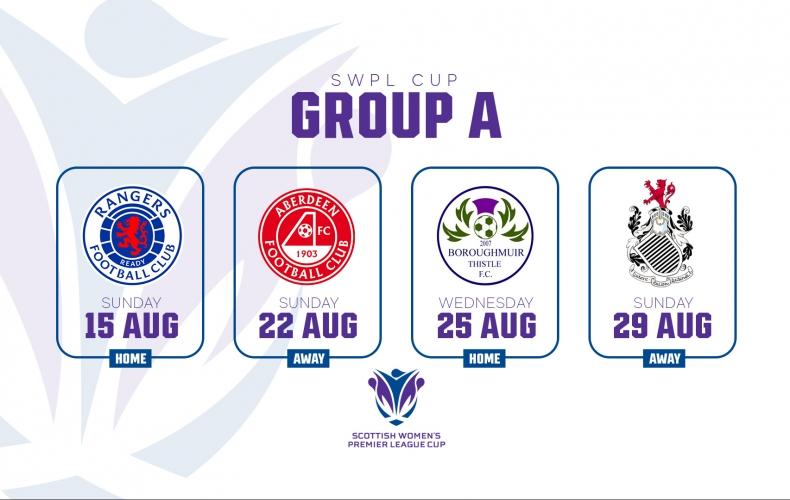 2021/22 SWPL Cup fixtures