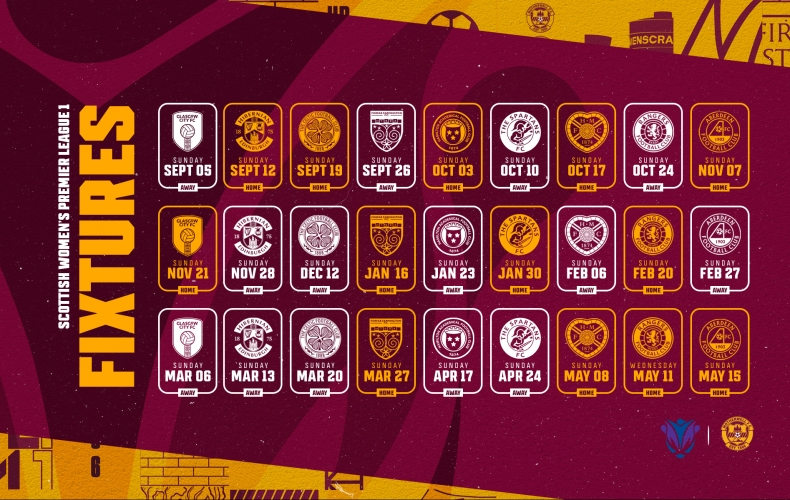 Motherwell fixtures revealed for 2021/22 SWPL1 season