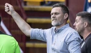 Manager reacts to Hibernian loss