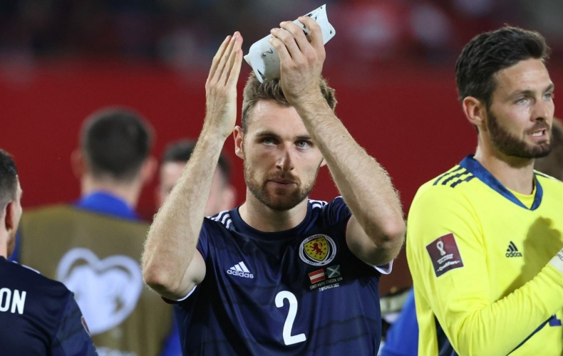 Stephen O'Donnell equals club Scotland cap record