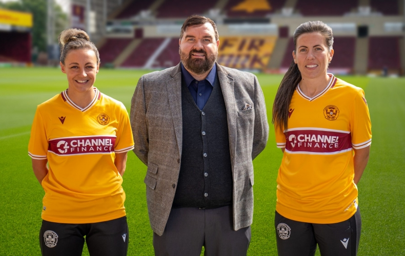 Channel Finance are new main sponsors of our women's team