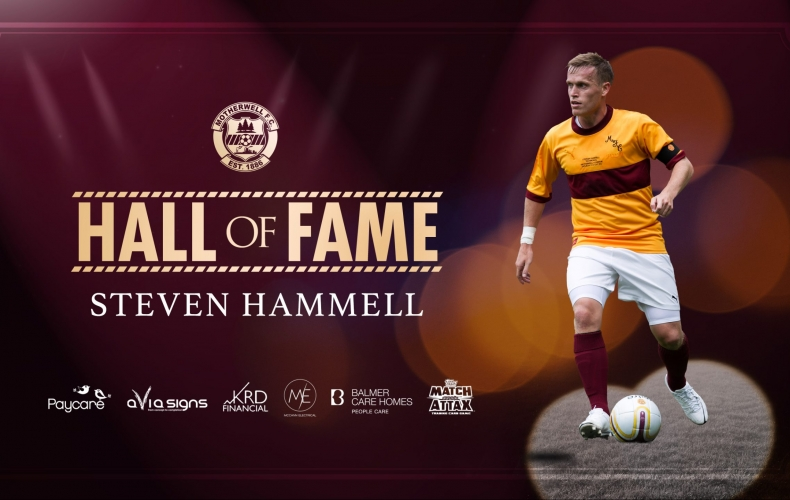 Steven Hammell inducted to Hall of Fame