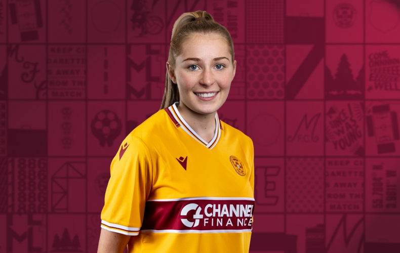 Paige McAllister signs