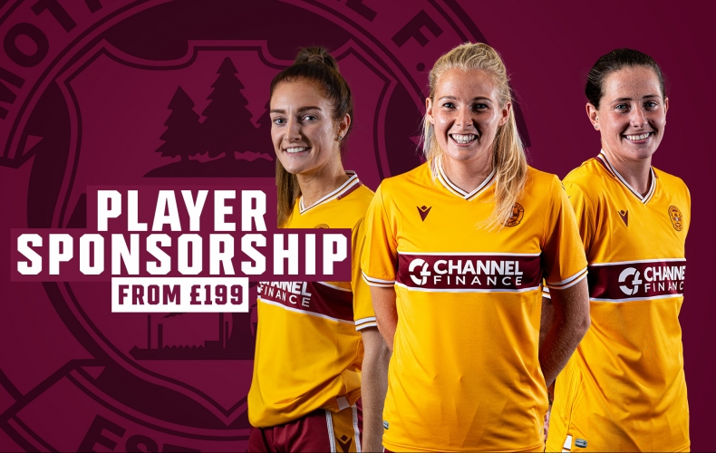 Back our women's team with player sponsorship