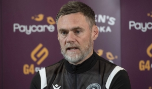 Manager looks ahead to St Mirren
