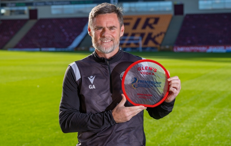 Graham Alexander named as Manager of the Month