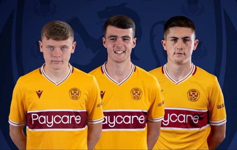 Three in Scotland Under 17s squad