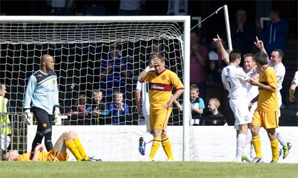 Ayr Utd 4 – 0 Motherwell