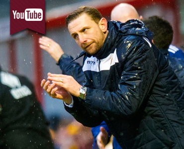 TV: Manager delighted with team spirit