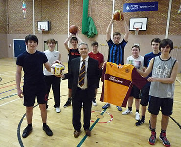 Steelmen launch Basketball side