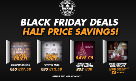 Don't miss our Black Friday deals