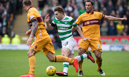 Motherwell 3 – 4 Celtic
