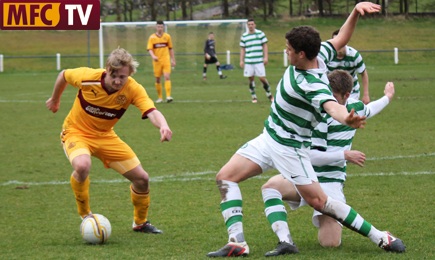 TV: Youths crash to Celtic defeat