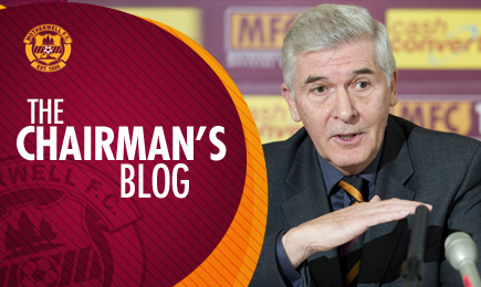 BLOG: An update from the Chairman #3