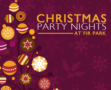 Book your Christmas Party at Fir Park