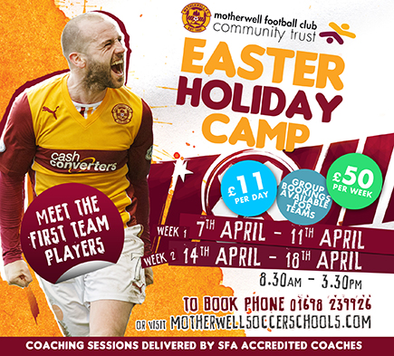 Easter Camp 2014: Last few spaces