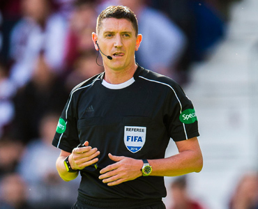 Thomson in charge of Scottish Cup clash