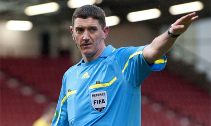 Officials named for Dons clash