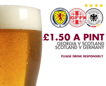 Watch the Scotland game at Fir Park