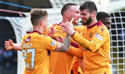 Dundee 0 – 2 Motherwell