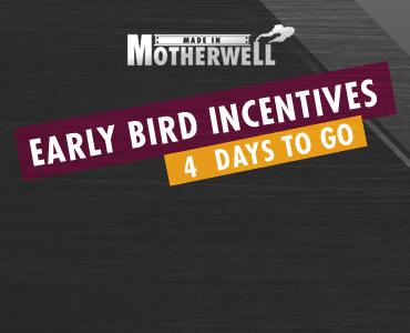 Early bird – 4 days left
