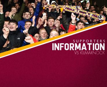Supporter Info: vs Kilmarnock