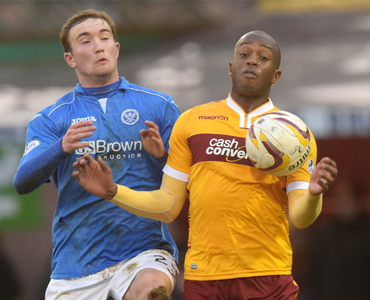 St Johnstone draw in pictures