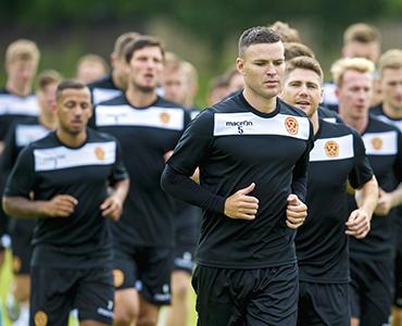 Players return for pre-season training