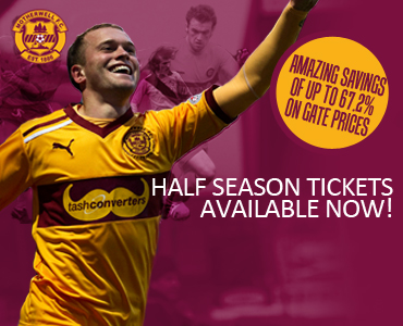 Half Season Tickets: Available now