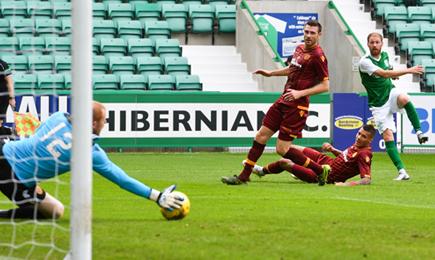 Hibernian 4-1 Motherwell