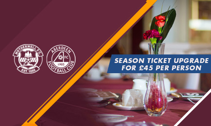 Hospitality on sale for Dons clash