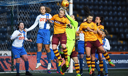 Ladies kick off with a win at Killie