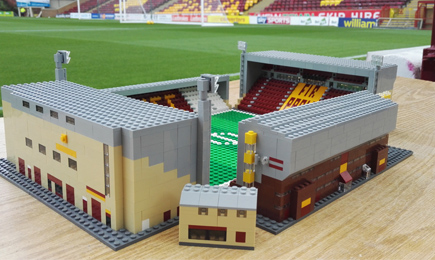 Win a Lego replica of Fir Park!