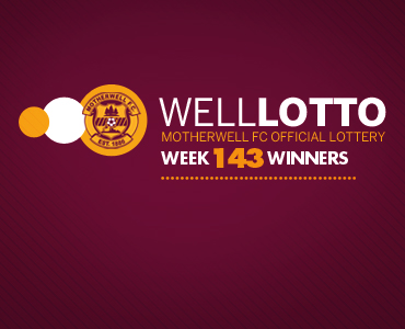 Well Lotto Winners: Week 143