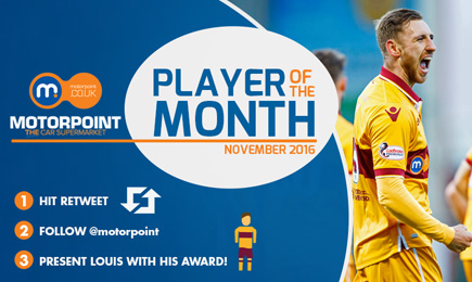 Motorpoint Player of the Month: November