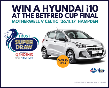 Win a car at Betfred Cup final