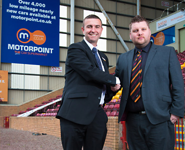 Motorpoint renew Steelmen partnership