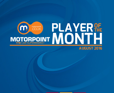 Motorpoint Player of the Month: August
