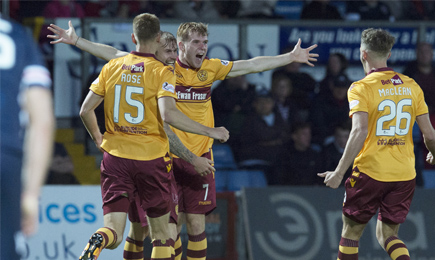 Ross County 2 – 3 Motherwell